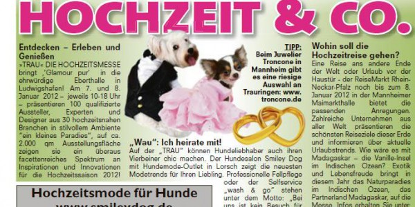 Bericht Bild Hochzeitsmesse